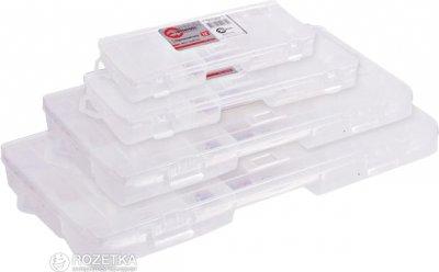 """Пластиковый органайзер для инструментов Intertool 9"""" 230 х 125 х 35 мм (BX-4000)"""