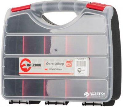 """Пластиковый органайзер для инструментов Intertool 12.5"""" 320 х 260 х 50 мм (BX-4001)"""