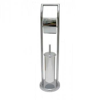 Туалетна стійка AWD Interior з тримачем для туалетного паперу та щітки AWD02070139 TLS