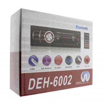 Автомагнитола 1DIN MP3 DEH-6002 /Bluetooth