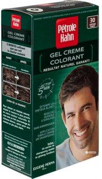 Мужская безаммиачная стойкая краска для волос Eugene Perma Pétrole Hahn № 30 Темный Шатен 90 мл (3140100047875)