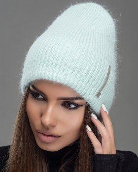 Женская шапка Jolie С люрексом Мятный (534)