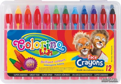 Краски для лица Colorino 12 цветов (32650PTR)