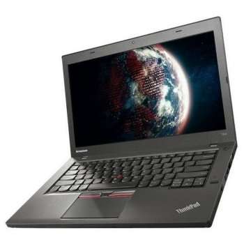 Б/в Ноутбук Lenovo ThinkPad T450 Intel Core i5-5300U/4 Гб/180 Гб/Клас B