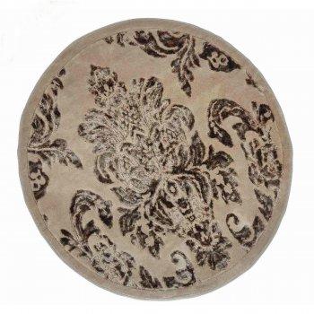 Килимок у ванну Arya Osmanli круглий 120 см Коричневий AR-TR1004843-brown