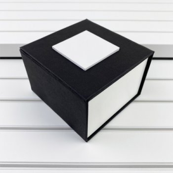 Наручные часы Chronte Robert Silver-Black мужские механические + подарочная коробка