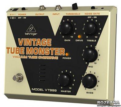Педаль эффектов Behringer Vintage Tube Monster VT999