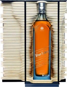 Виски Johnnie Walker Blue Alfred Dunhill выдержка 25 лет 0.75 л 40% в подарочной упаковке (5000267121918)