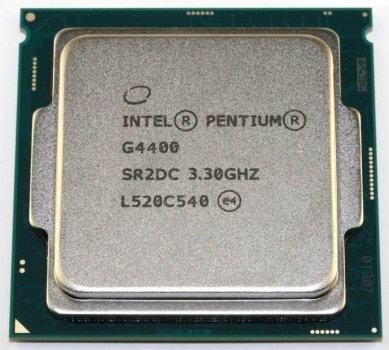 Процесор Intel Pentium G4400 3.3 GHz (3mb, Skylake, 54W, S1151) Tray (CM8066201927306)