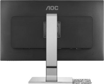 """Монітор 25"""" AOC Q2577PWQ Black-Silver"""