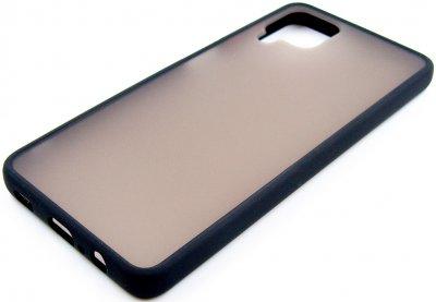 Панель Dengos матовая для Samsung Galaxy A12 Black (DG-TPU-MATT-62)