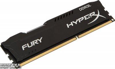 Оперативна пам'ять HyperX DDR3L-1866 8192MB PC3-14928 FURY Black (HX318LC11FB/8)