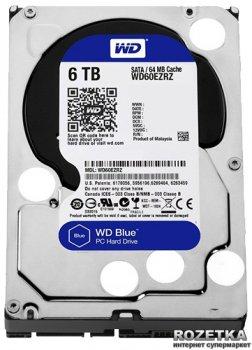 Жорсткий диск Western Digital Blue 6TB 5400rpm 64MB WD60EZRZ 3.5 SATAIII