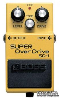 Педаль эффектов Boss SD-1 Super Overdrive