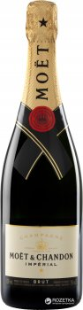 Шампанське Moet & Chandon Brut Imperial біле брют 0.75 л 12% в подарунковій упаковці (3185370001233)
