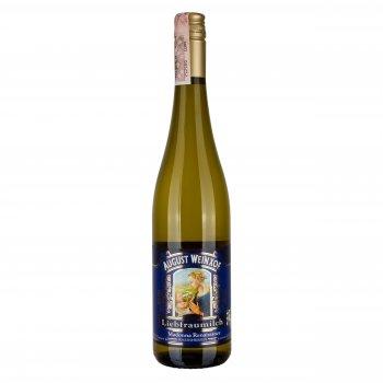 Вино August Weinxof Liebfraumilch Rheinhessen Madonna Renaissance белое полусладкое 0.75 л 9.5% (4003301036507)