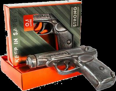 Водка Статус Пистолет Макарова 0.1 л 40% (4820139470712)