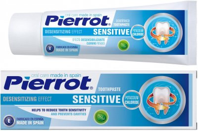 Зубная паста Pierrot Сенситив 75 мл Ref. 94 (8411732109411)