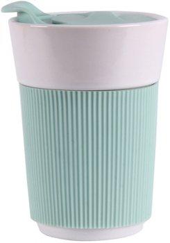 Чашка с силиконовой крышкой Limited Edition Travel 350 мл (HTK-037)