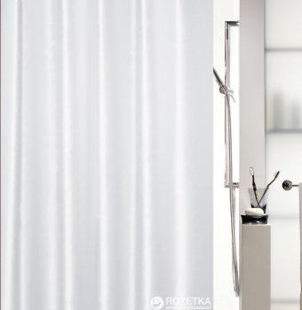 Шторка для ванної Spirella Shine 180x200 Polyester Бiла (10.15636)