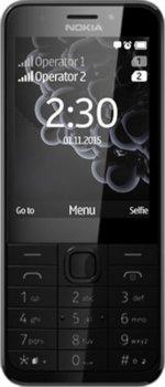 Мобільний телефон Nokia 230 Dual Sim Dark Silver/Black