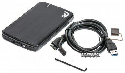 "Внешний карман Agestar для HDD 2.5"" USB 3.1 (31UB2A12 Black)"