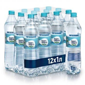 Упаковка минеральной негазированной воды BonAqua 1 л х 12 бутылок (5449000005489)