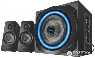 Акустична система Trust GXT 628 2.1 Illuminated Speaker Set Limited Edition Black (TR20562)