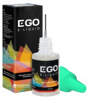 Рідина для електронних сигарет EGO E-liquid 6 мг 10 мл Чорниця (6929890008559)