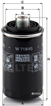 Фильтр масляный MANN W 719/45