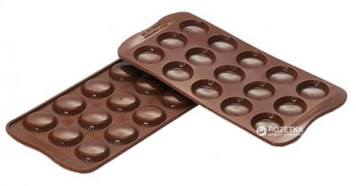 Форма Silikomart Macaron 3 см для шоколада (SCG21)