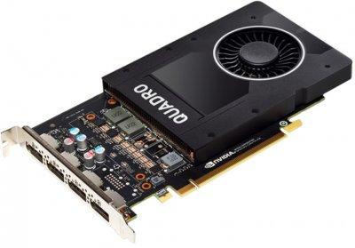 DELL PCI-Ex NVIDIA Quadro P2200 5GB GDDR5X (160bit) (10000) (4 x DisplayPort) (490-BFPN)