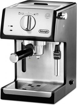 Кофеварка эспрессо DELONGHI ECP 35.31 BK Silver