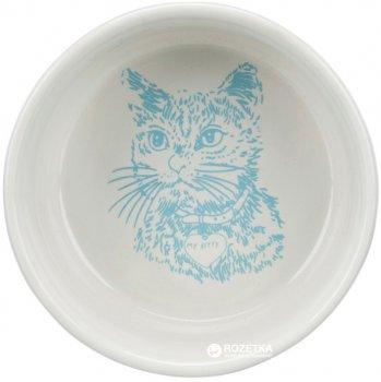Миска керамическая для котов Trixie 300 мл 4010 (4011905040103)