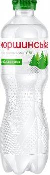 Упаковка минеральной природной столовой слабогазированной воды Моршинська 0.5 л х 12 бутылок (4820017000642_22215)