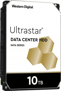 "Жесткий диск Western Digital Ultrastar DC HC510 10TB 7200rpm 256MB HUH721010ALE604_0F27454 3.5"" SATA III"