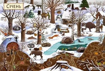 Рік у лісі - Дзюбак Емілія (9786176792789)