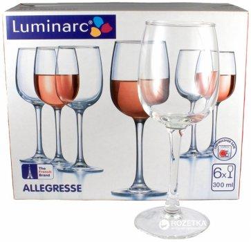 Набор бокалов Luminarc Allegresse 300 мл 6 шт (J8164/1)