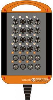 Мультикор Bespeco XTRA1608L20 20 м Black/Orange (23-15-2-15)