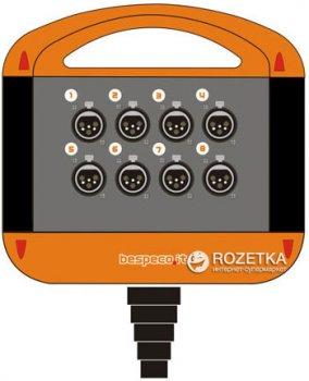 Мультикор Bespeco XTRA800L20 20 м Black/Orange (23-15-2-11)