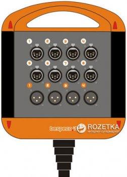 Мультикор Bespeco XTRA804L20 20 м Black/Orange (23-15-2-16)