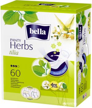 Ежедневные гигиенические прокладки Bella Panty Herbs Tilia 60 шт (5900516312190)