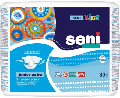 Підгузки Seni Kids Junior Extra 30 шт (5900516693176)