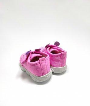 Кросівки для дівчаток С.Луч рожеві з пискавкою