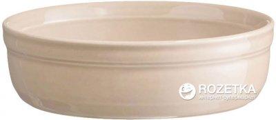 Форма порционная для крем-брюле Emile Henry HR Oven Ceramic Ovenware 13 x 13 x 3.5 см Бежевая (021013)