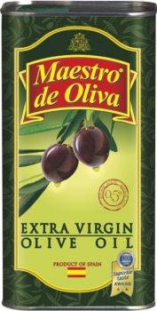 Оливковое масло Maestro De Oliva Extra Virgin Целебное 1 л (8436024291162)