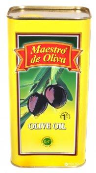 Оливковое масло Maestro de Oliva рафинированное 1 л (8436024291186)