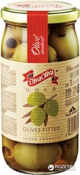 Оливки зеленые без косточки Diva Oliva Gold 370 мл (5060235651281)