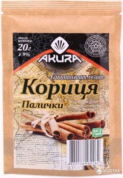 Корица Akura палочки 20 г (4820178460262)