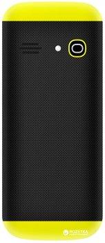 Мобільний телефон Nomi i184 Black-Yellow
